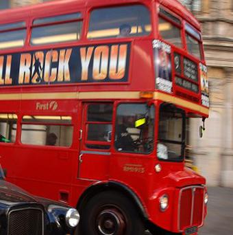 Police sneaked up on a gang of alleged con artists - using a London bus
