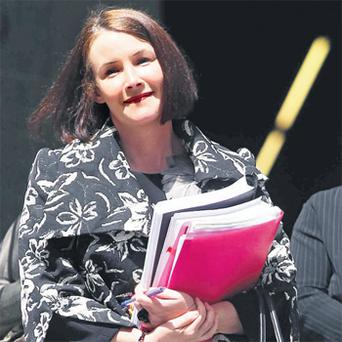 Severine Doyle (39), who was found guilty of intercepting voicemail messages of Teresa Conlon