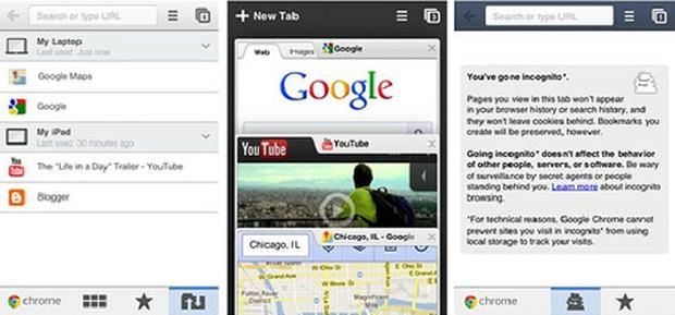 Google's Chrome web browser is now available for iPhone and iPad