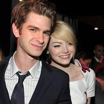 Andrew Garfield and Emma Stone stepped out for the world premiere of The Amazing Spider-Man