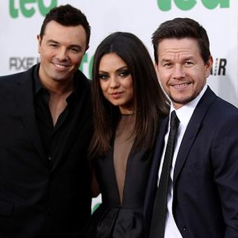Mark Wahlberg and Mila Kunis are both impressed with their Ted director, Seth MacFarlane