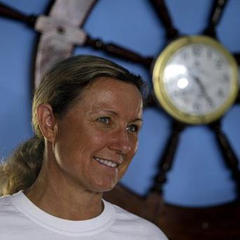 Penny Palfrey, 49, will attempt to swim between Cuba and the Florida Keys (AP)