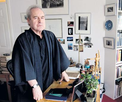 DEFIANT: John Banville says he feels no need to defend 'Ancient Light' and is adamant that it is not based upon any episode in his own childhood. Photo: David Conachy