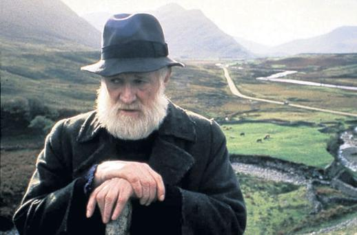 Richard Harris as the Bull McCabe in the film version of John B Keane's 'The Field'