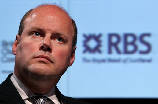 Stephen Hester, the CEO of RBS. Photo: Getty Images