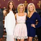 The Spice Girls ( from left to right) Melanie Brown ( Mel B) , Melanie Chisholm ( Mel C) , Geri Halliwell, Emma Bunton and Victoria Beckham