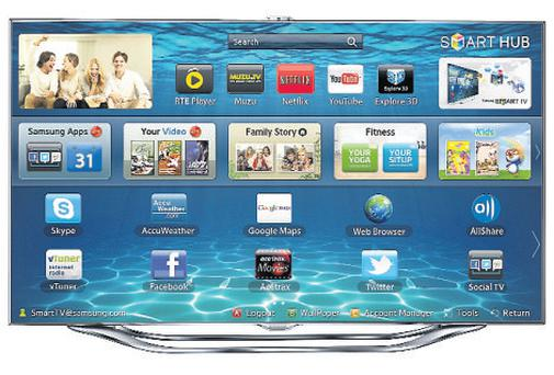The high end: The Samsung ES8000 is an impressive TV, but its voice control is far from perfect