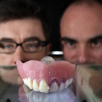 Professor Grant Burgess, left, and Dr Nick Jakubovics say seaweed could provide clues to fighting tooth decay