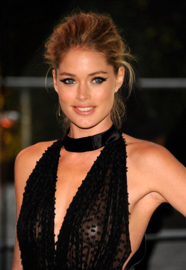 NEW YORK, NY - JUNE 04: Doutzen Kroes attends 2012 CFDA Fashion Awards at Alice Tully Hall on June 4, 2012 in New York City. (Photo by Kevin Mazur/WireImage)