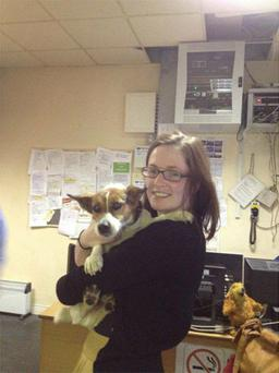 Deirdre Anglin reunited with patch