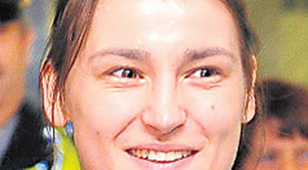 Boxer Katie Taylor: widely tipped to be the flagbearer