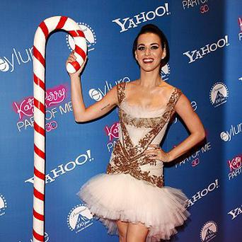 Katy Perry thinks British boyband One Direction are cute