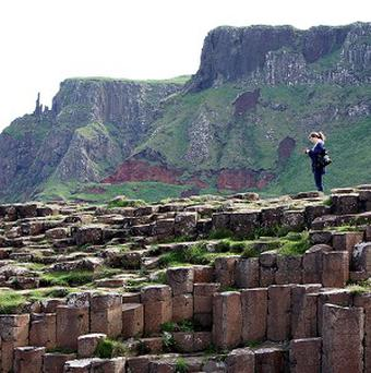 The new Giant's Causeway visitors' centre was formally opened on Tuesday