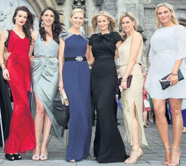 Guests, from left: Karen Fitzpatrick, Ruth Griffin, Sarah McGovern, Kelly O'Byrne, Jenny Lee Masterson and Kirsti