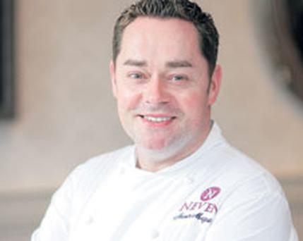 FINE DINING: Neven Maguire, who runs McNeans, Co Cavan