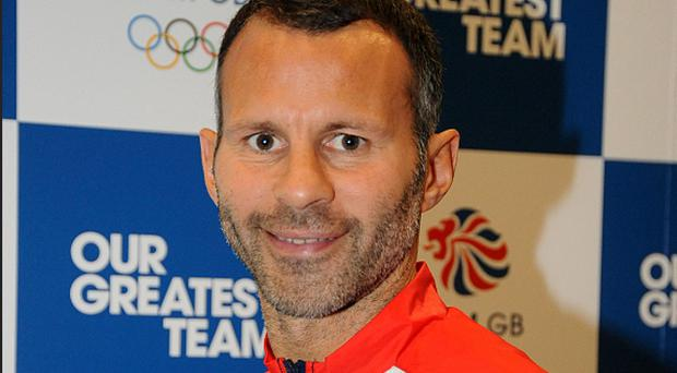 Team GB soccer Captain Ryan Giggs during the London 2012 kitting out session at Loughborough University, Loughborough.