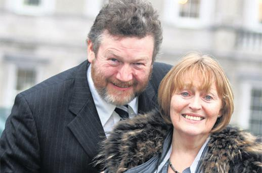 Dr Reilly and his wife Dorothy