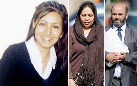 Mr and Mrs Ahmed both deny murder
