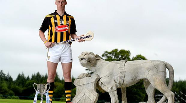 Kilkenny player and Bord Gáis Energy Ambassador Cillian Buckley in Emo Court, Laois. Photo: Sportsfile