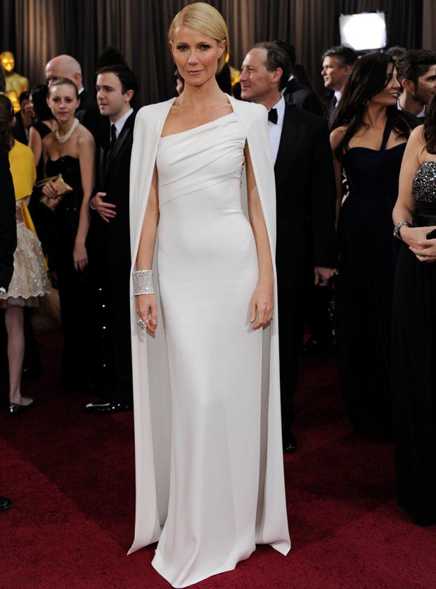 Gwyneth Paltrow wears Tom Ford to the Oscars earlier this year.