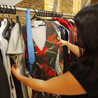 A charity has urged Britons to make more use of unwanted clothes
