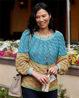 Wendi Deng, wife of News Corp Chairman and Chief Executive Rupert Murdoch, attends the Allen & Co Media Conference in Sun Valley, Idaho July 11, 2012. Photo: Reuters