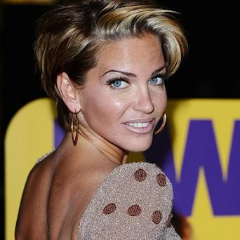 Sarah Harding went to a man's aid in Ibiza
