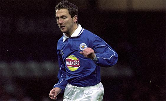 Darren Eadie in action for Leicester City