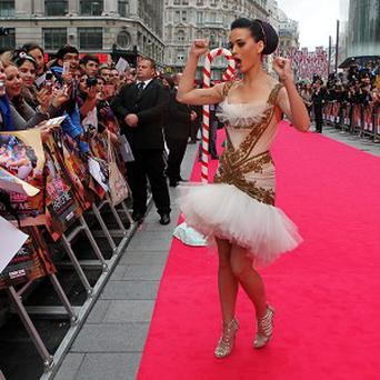 Katy Perry has been warned of the dangers of her spinning bra by insurers