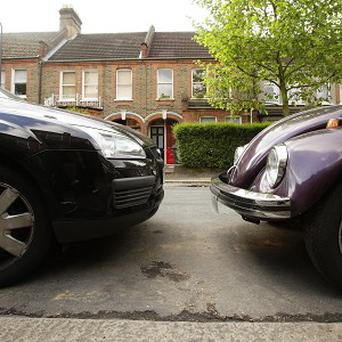 Parking space in residential areas has declined significantly in the last 10 years, figures show