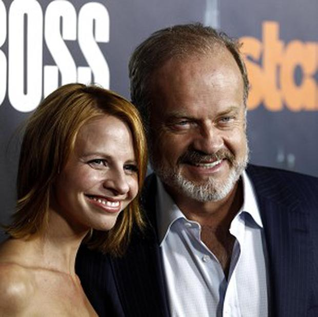 Kelsey Grammer and wife Kayte (AP)