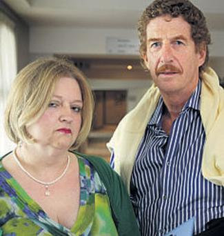 MAJOR BLOW: Affected parents Martina Kealy and Frank Kennedy in Dublin. Photo: Gerry Mooney