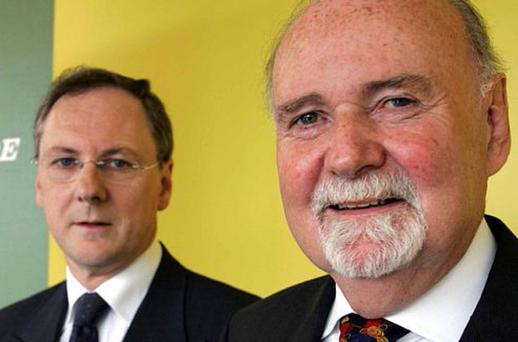 DOUBLE TROUBLE? The two Michaels, Walsh and Fingleton