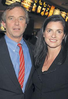 MOVED PLOT: Mary and Robert Kennedy Jr