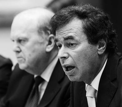 SHATTERPROOF: Alan Shatter deserves credit for the Personal Insolvency Bill but it will need an annual Oireachtas review to ensure a healthy balance between borrowers and lenders. Photo: Mark Condren