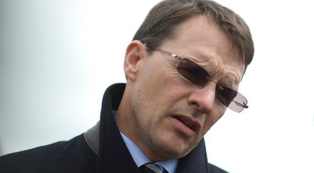 Aidan O'Brien poses at Curragh racecourse on July 01, 2012 in Kildare, Ireland. Photo: Getty Images
