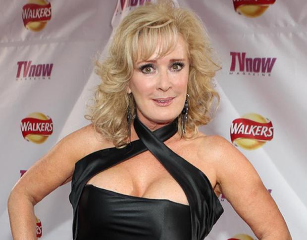 beverley callard arrives at the Walkers Tv Now awards at the Mansion House DublinPic Brian McEvoy