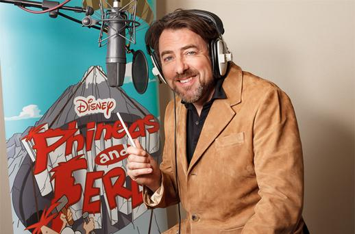 Jonathan Ross is set to become a cartoon character in TV hit Phineas And Ferb