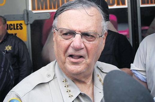 Maricopa County Sheriff Joe Arpaio is well-versed in controversial PR stunts. Photo: Getty Images