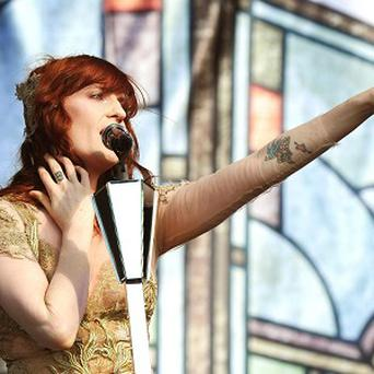 Florence Welch has a number one single