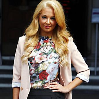 Tulisa Contostavlos had to pull out of GuilFest because of illness