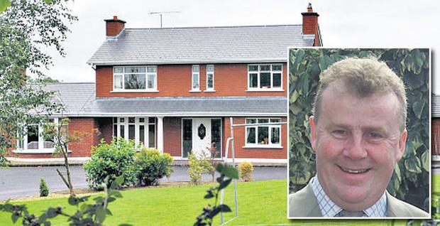 John Hand and his home in Navan, which was at the centre of the court case involving a neighbour