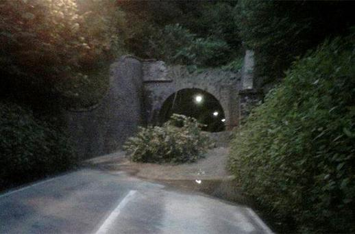 The scene after a landslide at Beaminster Tunnel in Dorset last week before it became known that two people were killed as a result of it.