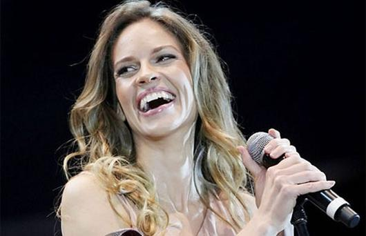 Hilary Swank is to appear in a BBC One film drama for Red Nose Day