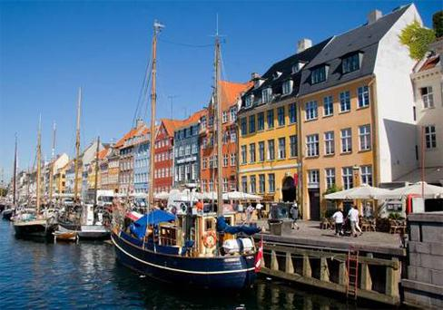 Nyhavn was Hans Christian Andersen's old stomping ground, but is better known as the 'world's longest bar'