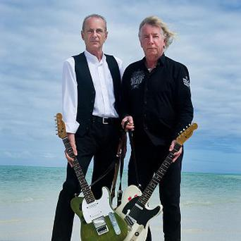 Francis Rossi and Rick Parfitt of Status Quo have been filming in Fiji