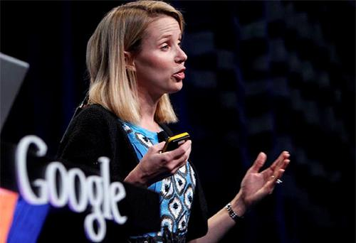 Marissa Mayer, vice president, search products and user experience for Google Inc, unveils