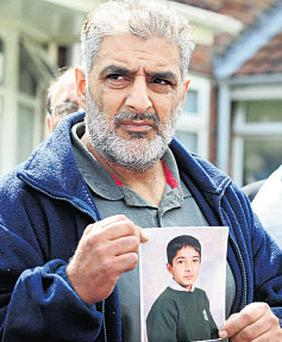 Tariq Jahan: appeal after tending to his dying son on the street