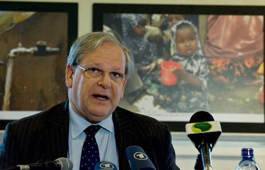 Mark Bowden, the UN Humanitarian Coordinator for Somalia. Photo: Getty Images