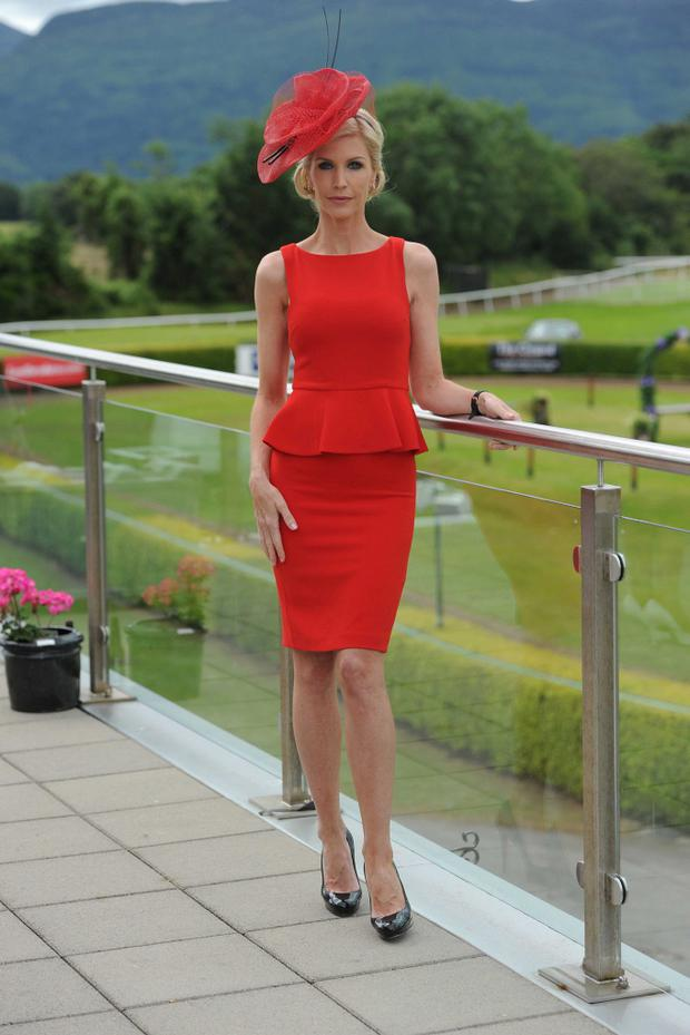 Pictured at Killarney Races on Ladies Day were yVONNE keating .Photo By : Domnick Walsh / Eye Focus LTD © Tralee Co Kerry Ireland Phone Mobile 087 / 2672033L/Line 066 71 22 981 E/mail - info@dwalshphoto.ie www.dwalshphoto.com PRESS INFO ____ Dawn Dairies Ladies Day is on this Thursday 19th of July at Killarney Festival Races. The winners of the Dawn Dairies Queen of Fashion (Best dressed lady) and the Dawn Dairies Most Stylish Hat will be announced in the parade ring at approx 4.40pm. Judges are top personality Yvonne Keating and the current Rose of Tralee, Tara Talbot. This is the 19th year Dawn Dairies have sponsored Ladies Day at the Killarney Festival Races. The winners of the Best Dressed Lady receives a trip for two to Paris and the Winner of the Most Stylish Hat receives a trip for two to Milan. Mr. Gerard Coughlan, General Manager of Dawn Dairies will make the presentations in the parade ring along with the judges. PHOTOGRAPHY : Domnick Walsh will attend on our behalf and syndicate a photograph to you from the course. His mobile number is 087 2672033. Photographs are royalty free. No fee. PRESS QUERIES / ADDITIONAL INFORMATION :If you require any further information on the day please contact Orla Diffily, Upfront PR. 086 8399115